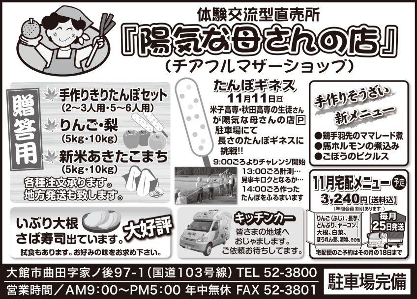 今月の広告(2018年11月)